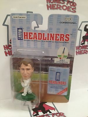 Corinthian Headliners England Cricket Mike Atherton Sealed In Blister Pack