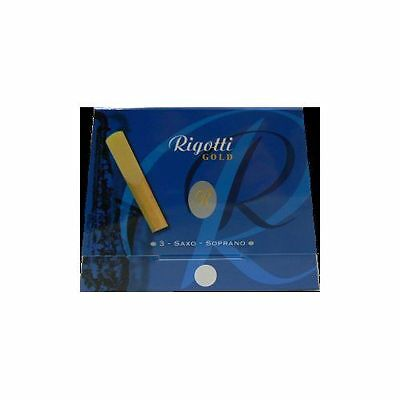 RIGOTTI GOLD RGS20/3- 3 anches-reeds saxophone soprano Force 2- NEW