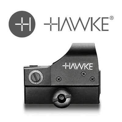 Hawke Red Dot Reflex Sight Weaver Mount Zielfernrohr Luftgewehr Rotpunktvisier