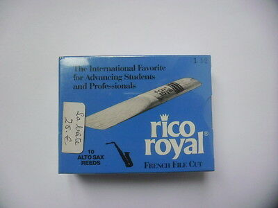 RICO ROYAL 10 Anches-reeds Alto saxophone Force 1,5- NEW