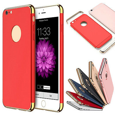 Luxury Ultra-thin Hybrid Shockproof Armor Back Case Cover For iPhone 7 & 7 Plus