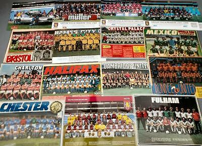Laminated Football Team Group Magazine Photos/Posters - Choose your team