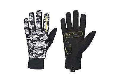 Guanti Invernali Northwave Power 2 Gel Pad Camo Giallo Fluo