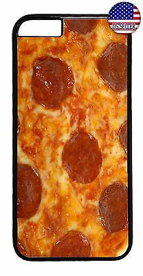Funny Case Cover For Apple iPhone 7 / 7 plus Pizza Pepperoni Food Design Cute