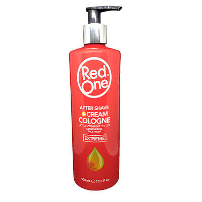 RedOne Aftershave Cream Cologne EXTREME rot 400ml  (21,75 EUR pro l)