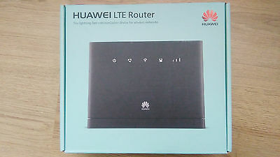 HUAWEI LTE CPE B315 S-22 4G Router GATEWAY 150MBPS WIFI EE SIMFREE new black