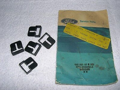 NOS 1973 86 Ford F100 F150 F250 F350 Truck Box Top Rail Retainers D3TZ-9932252-A