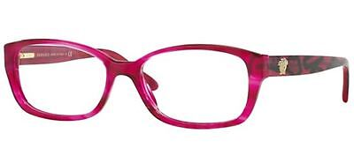 Brand New Versace Mod. 3207 5132 Pink Eyeglasses Mod.3207 Authentic Rx 52-16 !