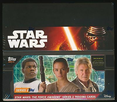 2016 Topps Star Wars The Force Awakens Series 2 Retail Edition SEALED 24-pk BOX