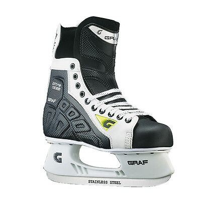 GRAF Ultra F10 Ice Hockey Ice Skates Hockey Skates senior Size 11,5 EU 46 2/3