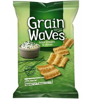 Grainwaves Sour Cream and Chives 175g