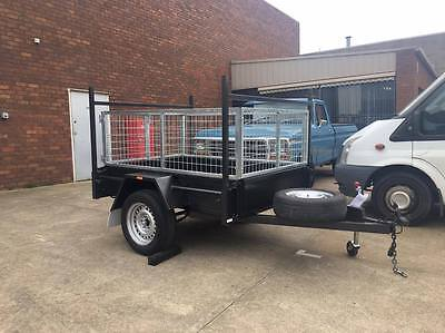 6x4 Heavy Duty Cage Trailer