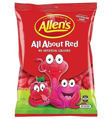 Allens All About Red 170g x 12