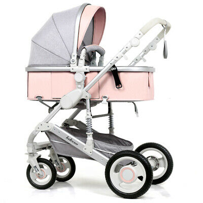 2018 Baby Stroller 2 in 1 Newborn Carriage Infant Travel Foldable Pram Pushchair