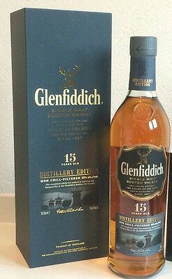 Glenfiddich 15 Year Old Distillery Edition Scotch Whisky 700mL