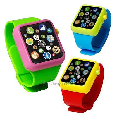Kids Educational Smart Wrist Watch Early Learning 3DTouch Screen Music Toy Gift