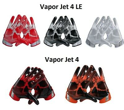 Nike Vapor Jet 4 and 4 LE Receiver Gloves NWT (Multi Colors/Sizes) GF0575 GF0491