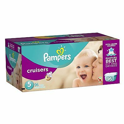 Pampers Cruisers Diapers Size 5 96 Count