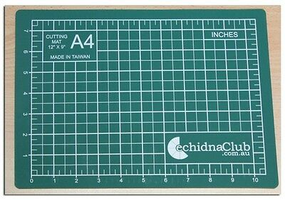 A4 - 5 Ply Self Healing Cutting Mat.... Imperial Measurement