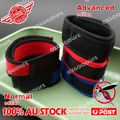 Advanced - bug stop mosquito repellent bracelets wrist band insects fly repeller