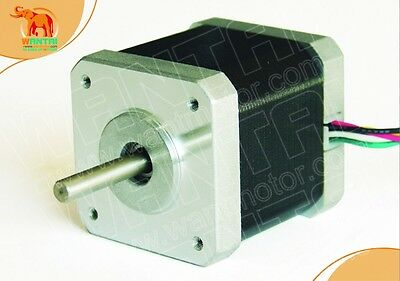 1 PC CNC Nema17, 1.7A, 4000g.cm,42BYGHW609 Wantai Stepper Motor 3d printer Mill