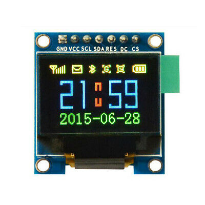 0.95'' 7 Pin Full Color 65K SSD 1331 SPI Serial OLED Display Modul für Arduino