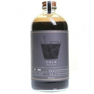 3/4 Oz Cola Maison Syrup 500ml