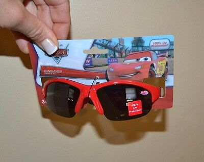 Kids DISNEY CARS Sunglasses Lightning McQueen 100% UV Ages 3+ And Up