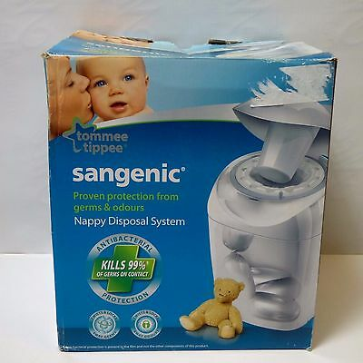 Tommee Tippee Sangenic DISPOSABLE SYSTEM Hygiene Nursery Diapers Nappies Bin BN