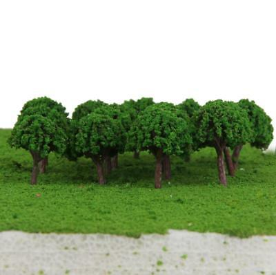 50 Green Light Alberi Model Train tracciato ferroviario Wargame Diorama
