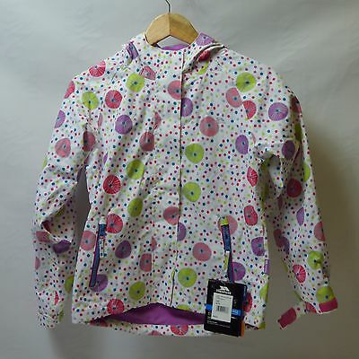 Trespass Girl's Hopeful Rain Waterproof Jacket SIZE YEARS 9/10