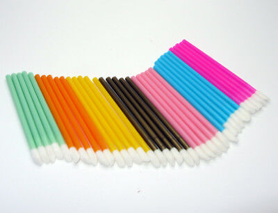 Disposable Lip Gloss Wand Brush Lipstick Applicator Spoolers Colours Available