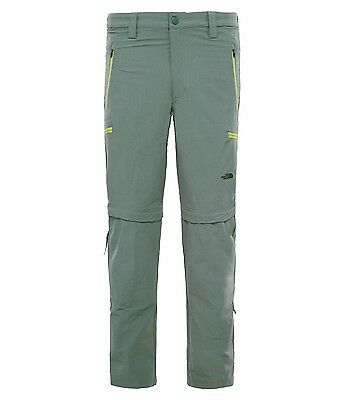 The North Face TNF Exploration Convertible Mens Hiking Trekking Pants DWR