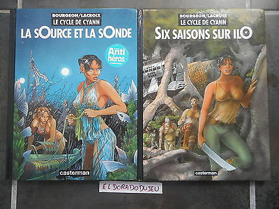 Eldoradodujeu > Bd Lot - Le Cycle De Cyann 1-2 - Casterman Eo Be/be+