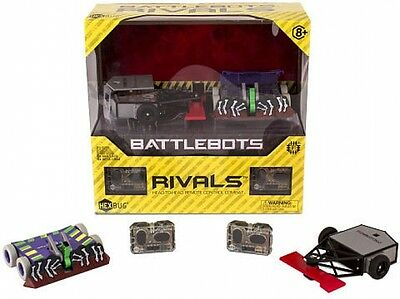 Hexbug Battlebots Rivals Twin-Pack (Colors/Styles Vary) Perfect Gift New!!!