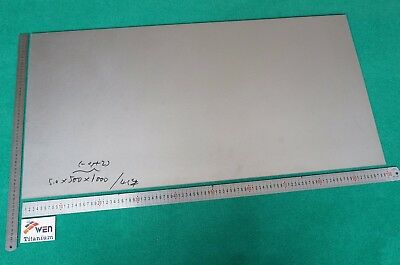 "2mm Thick Titanium 6al-4v Sheet .078/"" x 20/"" x 40/"" Grade 5 Plate Metal"