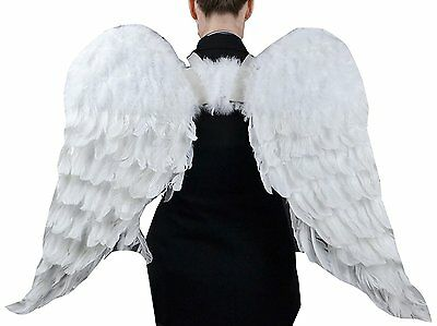 Touch of Nature11008 Adult Angel Wing in White with Elastic Straps 43 by costume