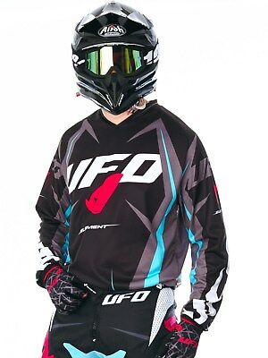 UFO MX Trikot 2017 Element Schwarz
