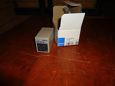 Omron,  Floatless Level Switch, Cat#61F-Gp-N, New