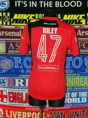 4/5 Gap Connahs Quay adults L #47 Riley away football shirt jersey trikot soccer