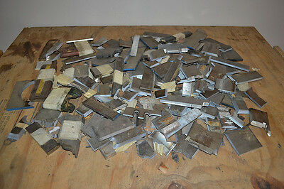 175+ Various Sized and Styles Moulder / Shaper Insert Knives, Blades - CD-151636
