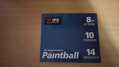 10 tickets for Paintballing sessions with 1000 free paint balls