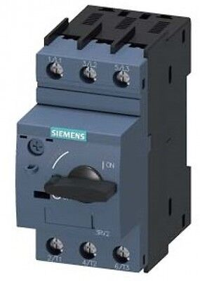 SIEMENS 3RV2021-1FA10 Manual Motor Starter, 5 Rated Amps, 3.5-5.0 Amps Range