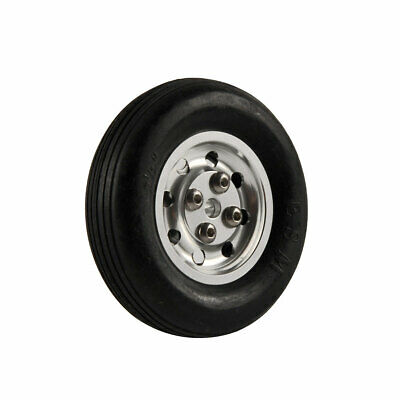 "1 Pair 2.5""/ 63.5mm Solid Rubber Wheels with Alu Hub For RC Aircraft"