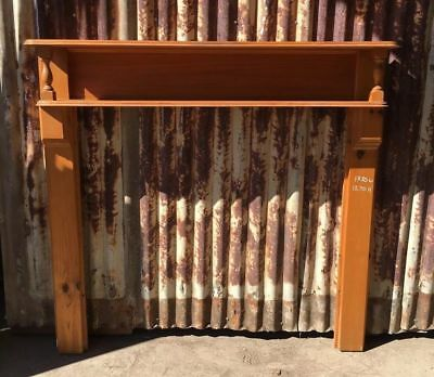 Timber Mantle Piece 1330w X 1270h