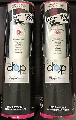 OEM Whirlpool Every Drop Refrigerator WATER FILTER EDR5RXD1 4396508 MAYTAG AMANA