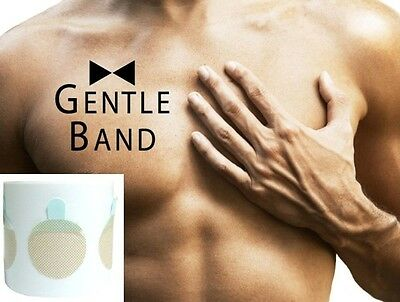 100pcs Gentle Band Mens Nipple Cover Band Sticker Patch Invisible Stickers Men