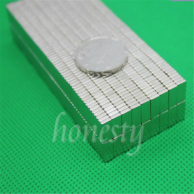 10-200pcs Super Strong Block Square Rare Earth Neodymium Magnets 10 x 5 x 3mm
