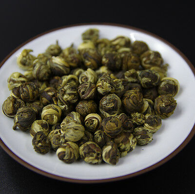 NEW 500g Organic Premium King grade Jasmine Dragon Pearl Chinese GREEN TEA tee