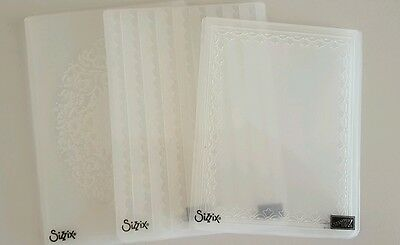 Sizzix Stampin Up Embossing Folders - selling individually - 3 Folders Available